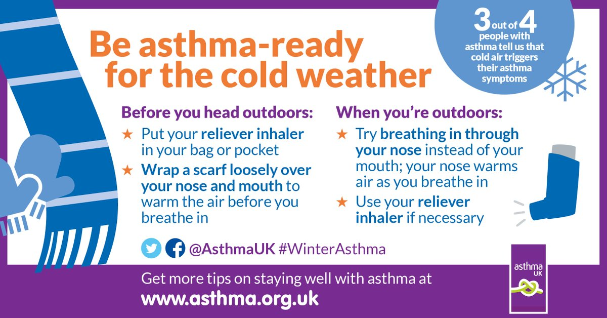 Asthma ready for cold weather