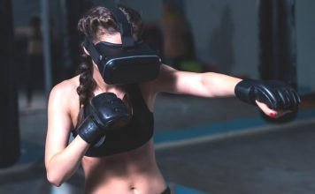 At Home Exercises Made Exciting with VR