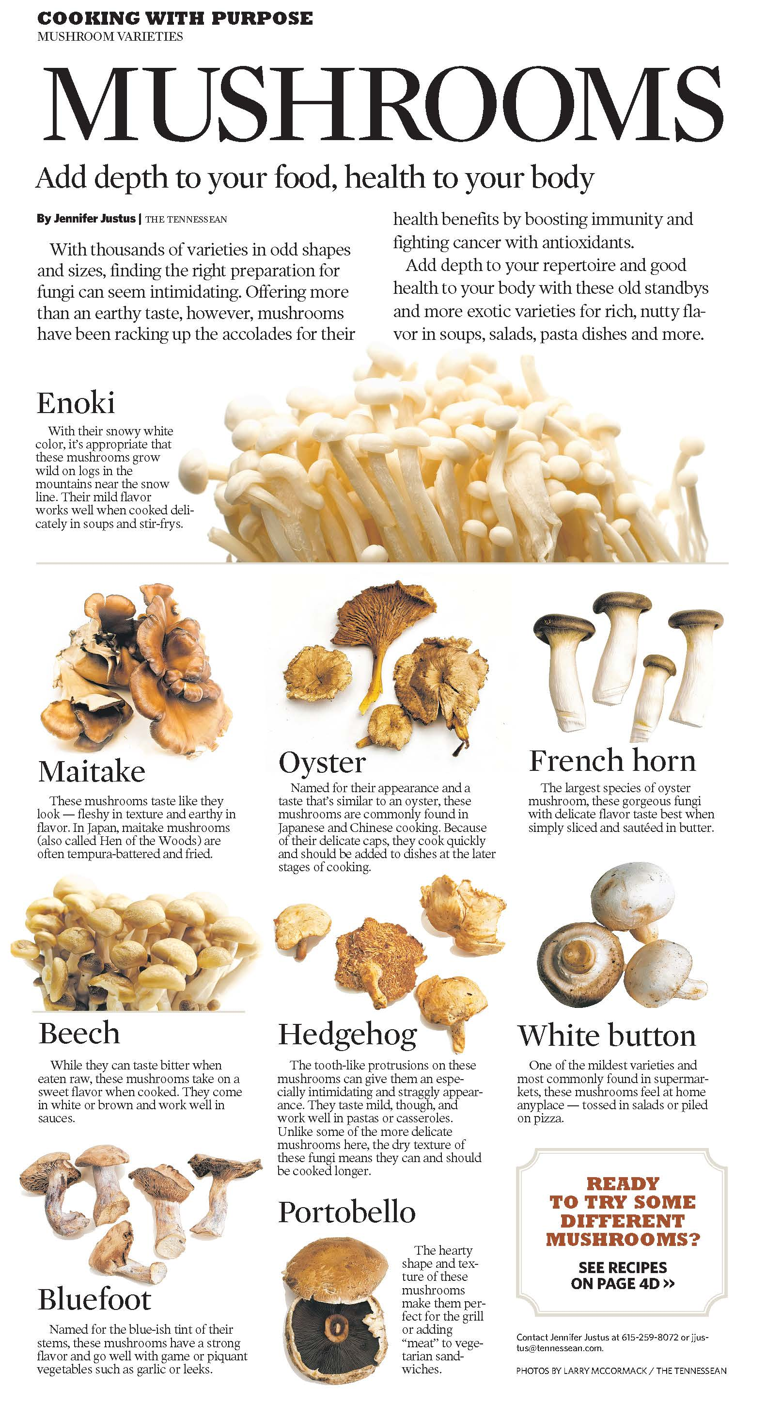 Healthy Mushrooms