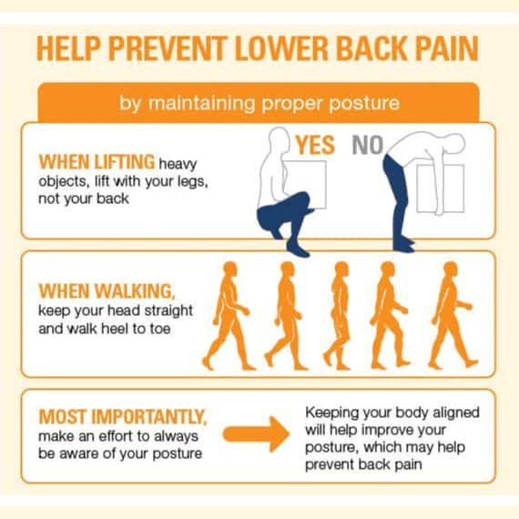 Help Prevent Back Pain