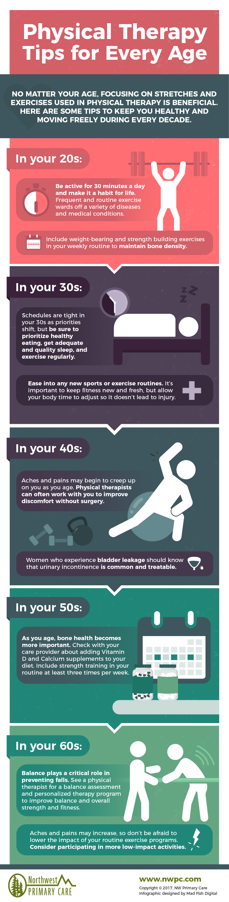 Physical Therapy tips for every age