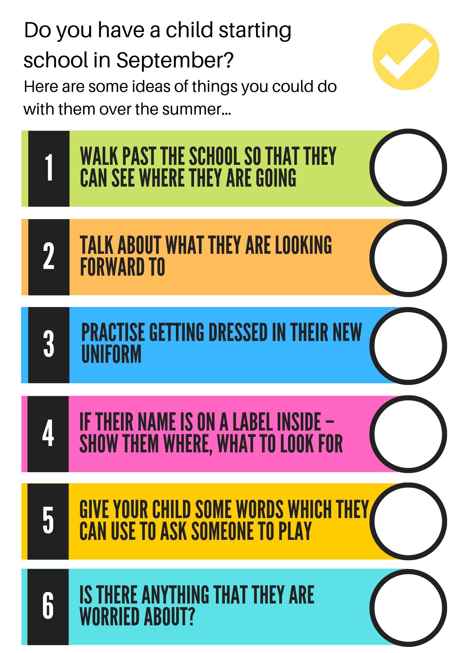 Preparing Child for School