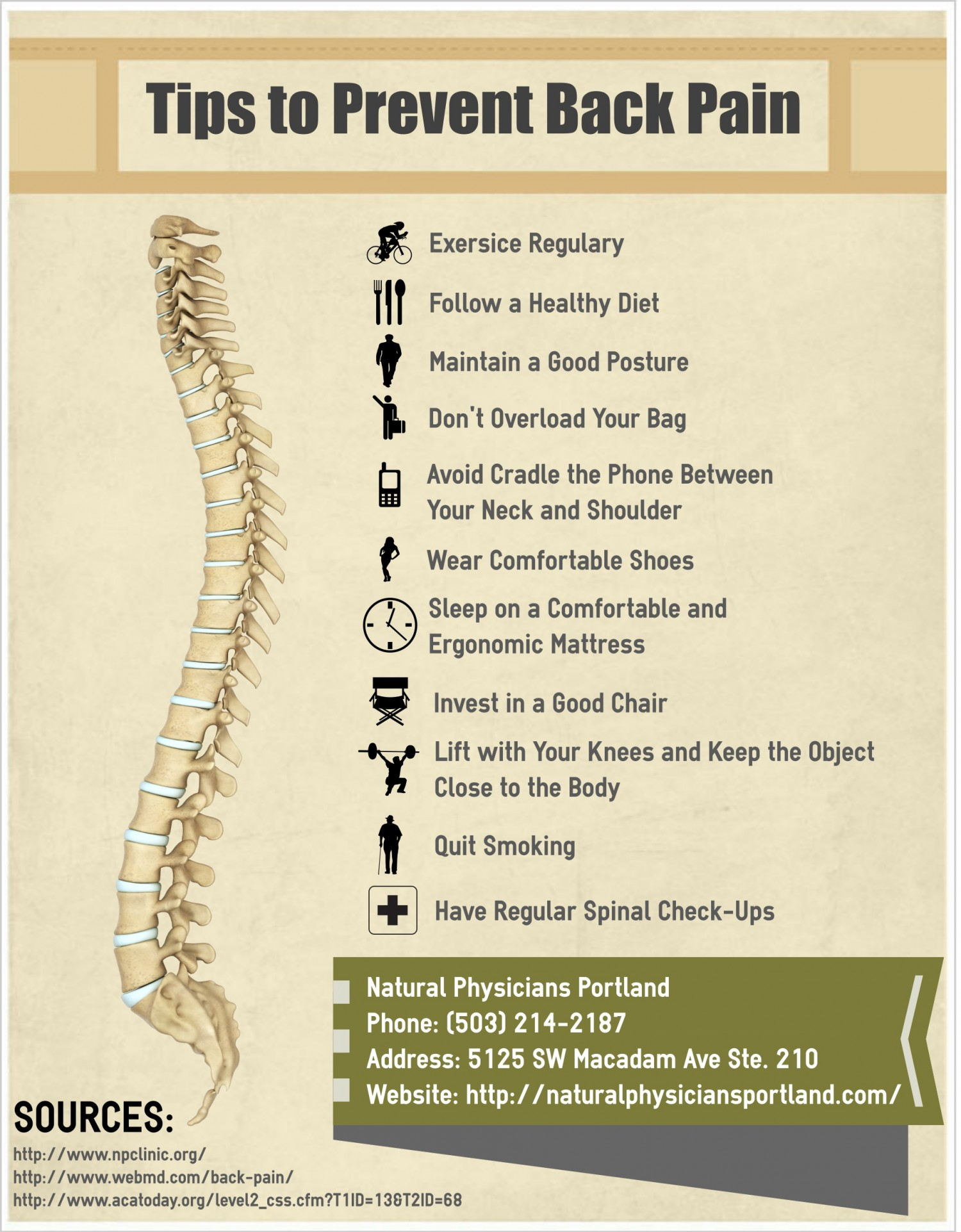 Prevent Back Pain