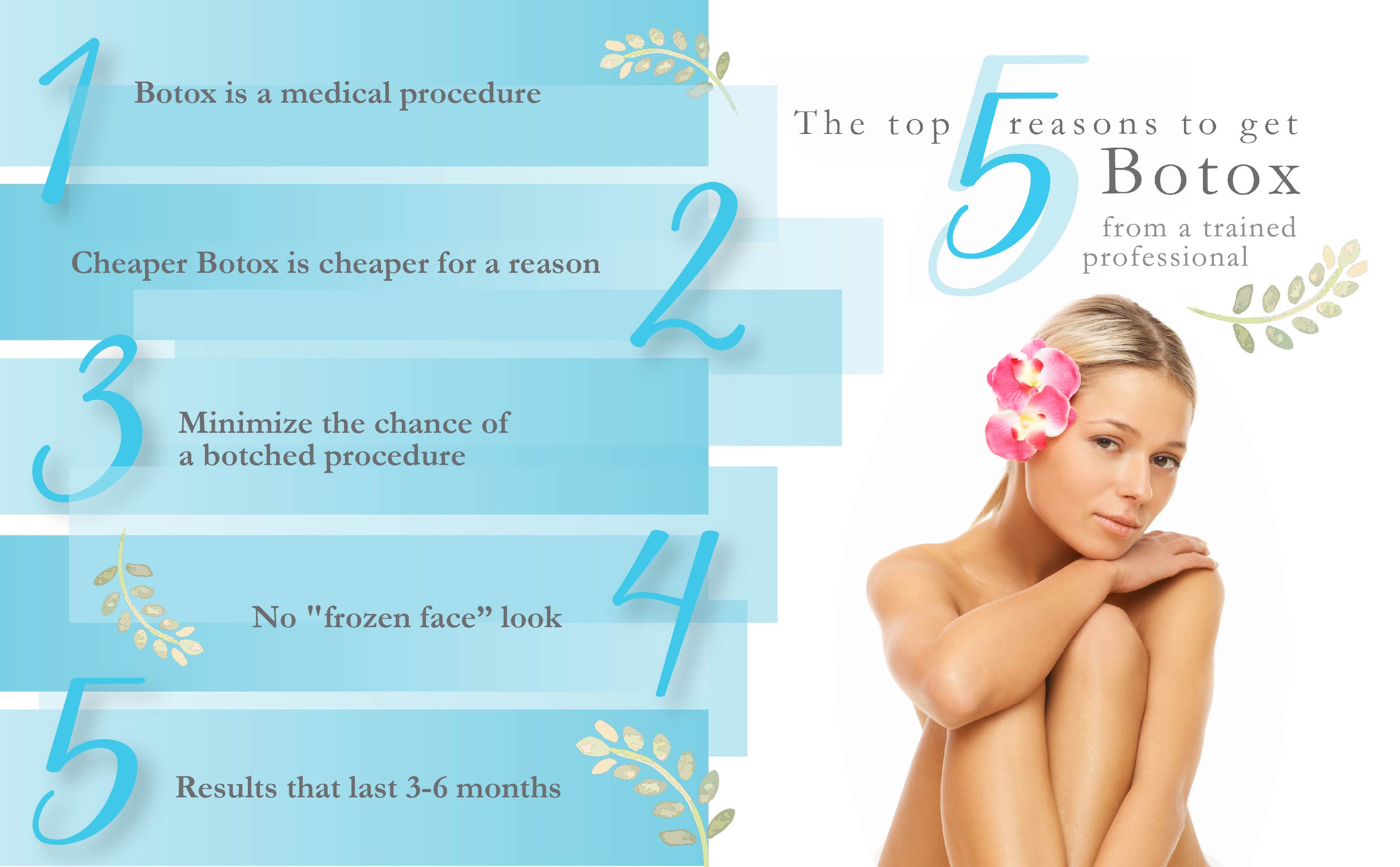 Top reasons to get Botox