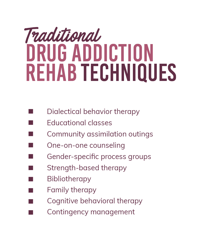 Drug Addiction Rehab Techniques