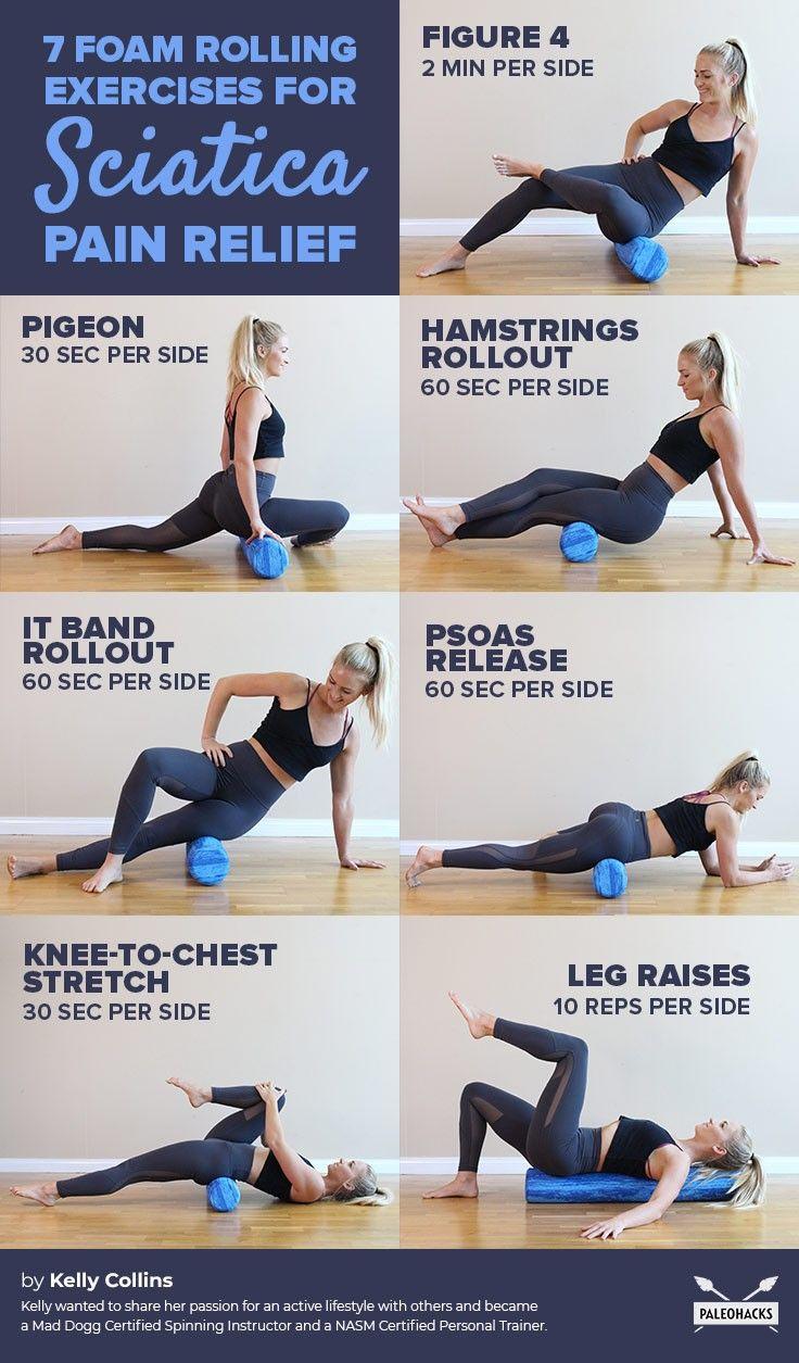 Foam Rolling Exercises for Sciatica Pain Relief
