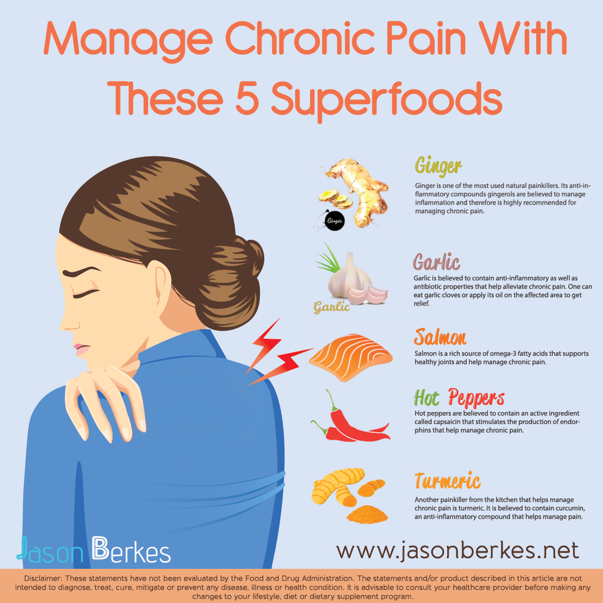 Manage Chronic Pain With these Super Foods
