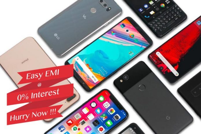Buy your next Mobile on EMI