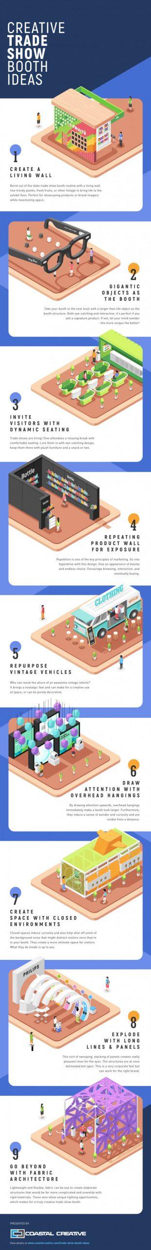 Creative Trade Show Booth Ideas