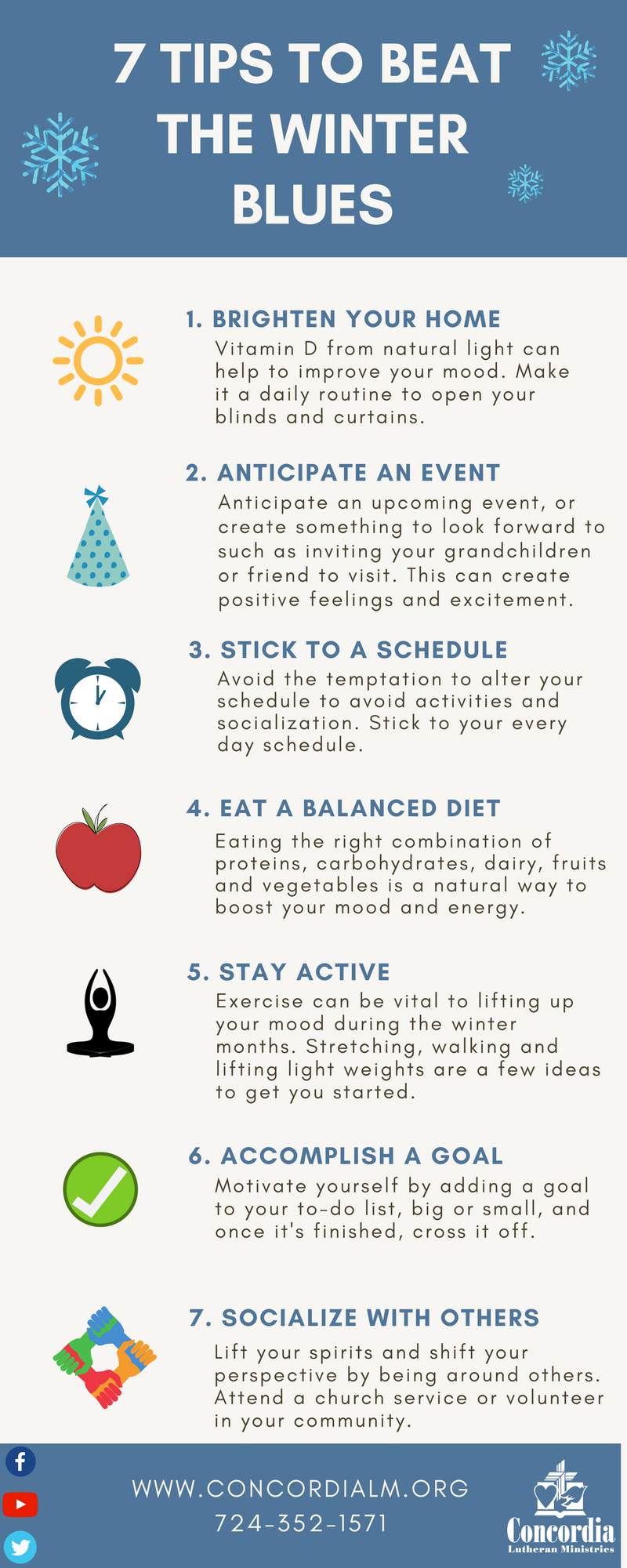 Tips to Beat the Winter Blues