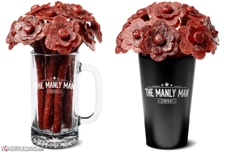 Beef Jerky Flower Bouquet