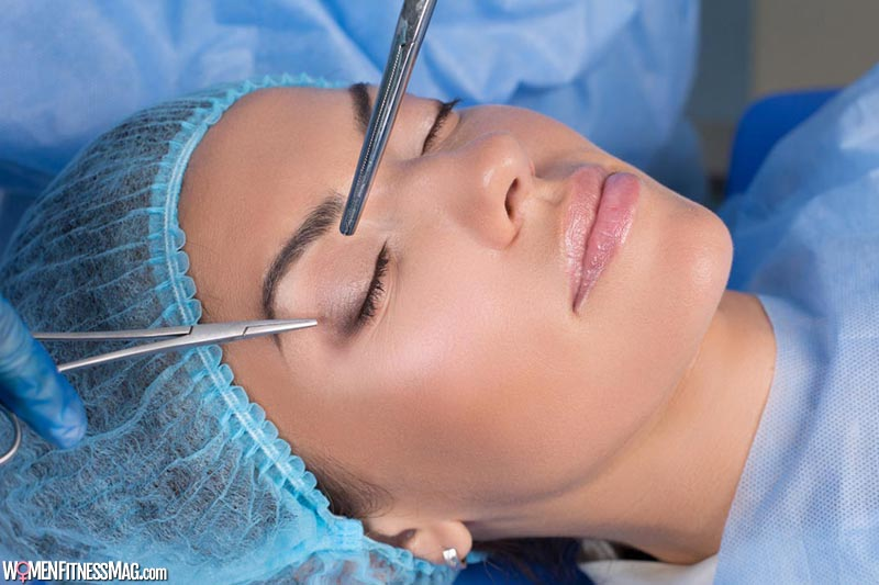 eyelid surgery or blepharoplasty