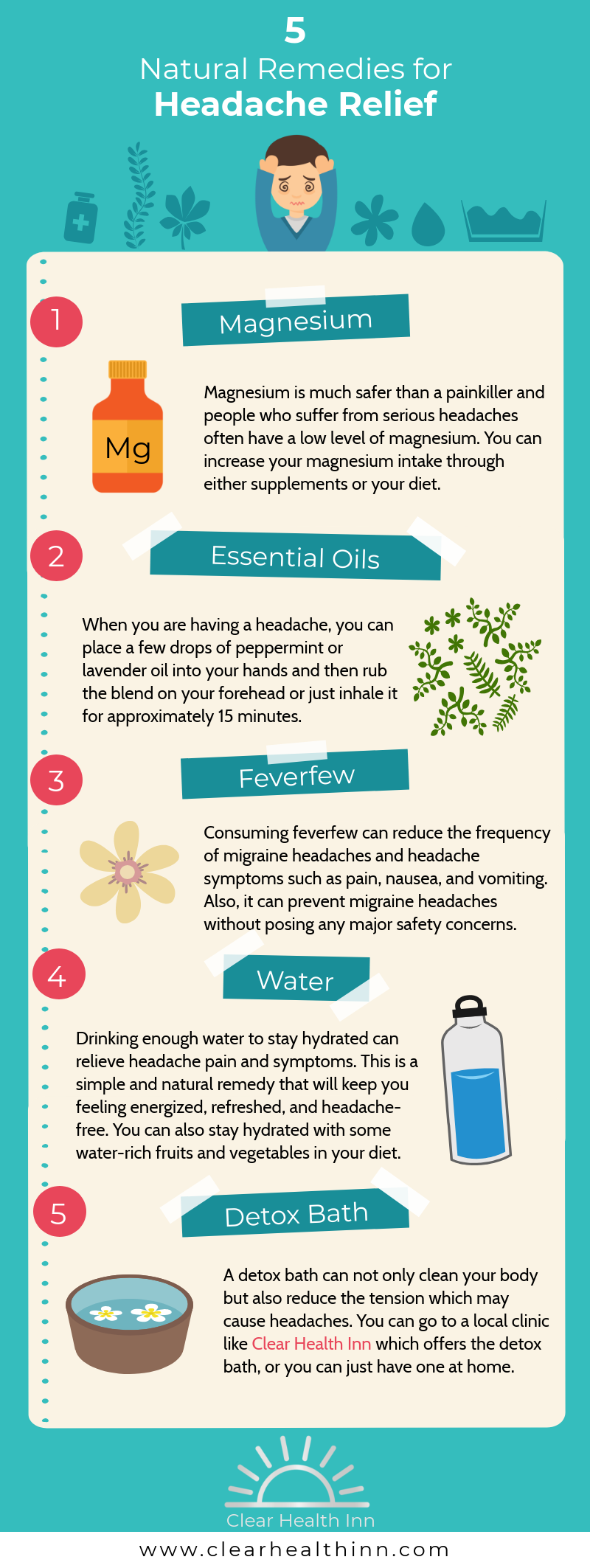 Natural remedies for Headache Relief