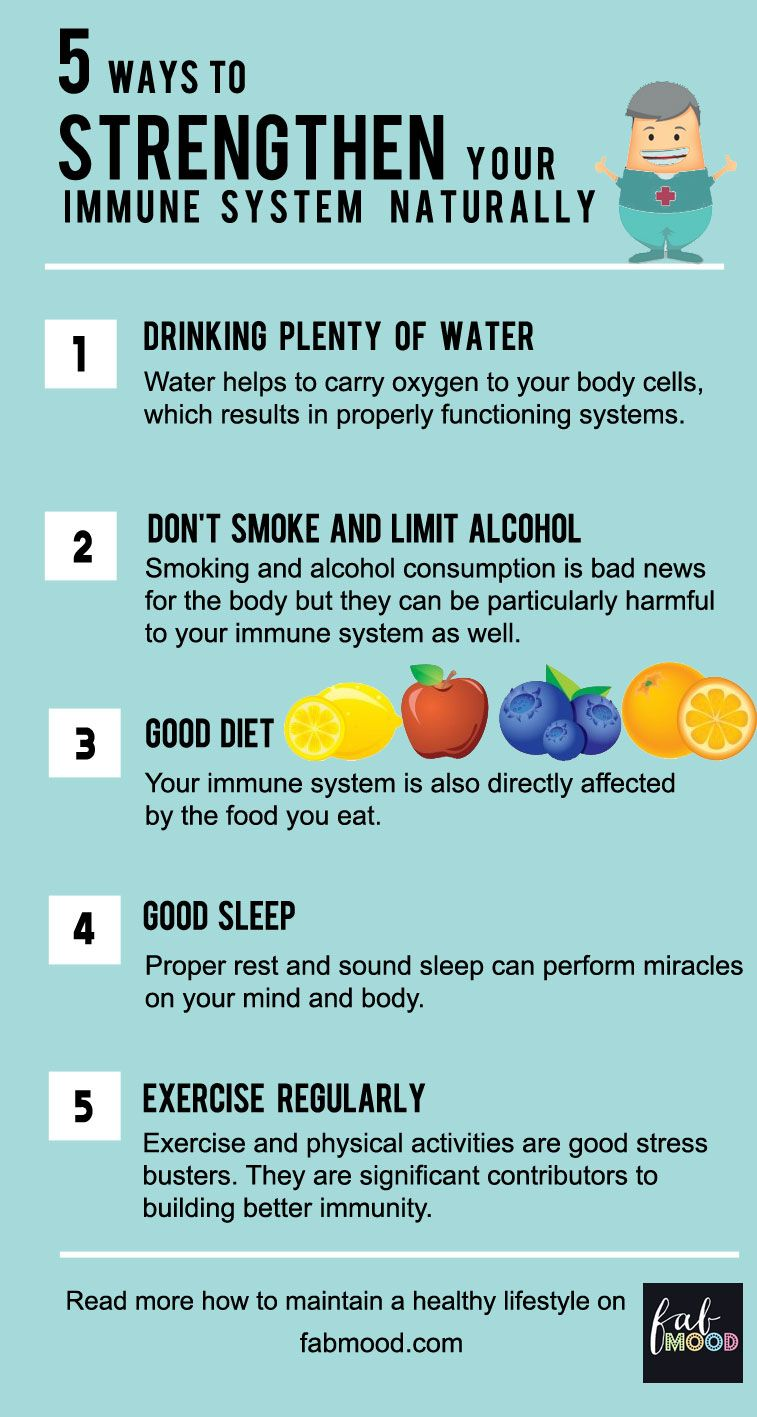 ways to strengthen your Immune System naturally