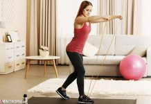 Exercise Resistance Band Training At Home - Tips for Busy Women